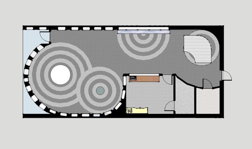 Подробная схема помещения для установки гипсокартона