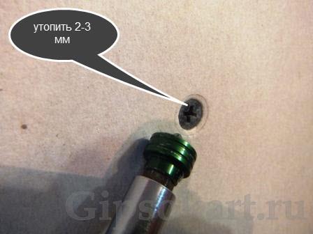 shpaklevka shurupov gipsokartona 2