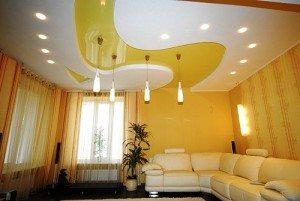 Светильники для потолков из гипсокартона