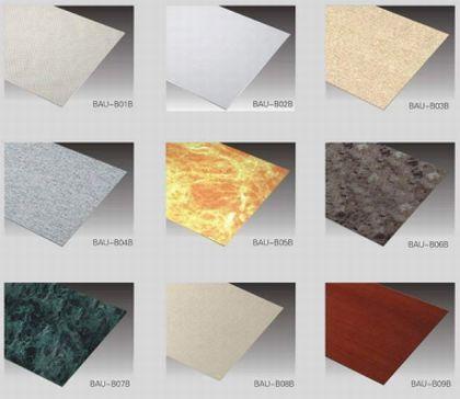 Цветовые варианты гипсовых ламинированных панелей