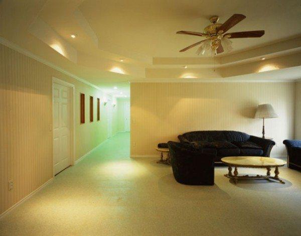 варианты потолка из гипсокартона
