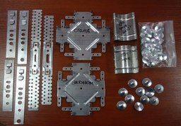 Все необходимое для установки металлического каркаса для гипсокартона